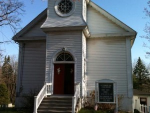 Picture of the outside of the church